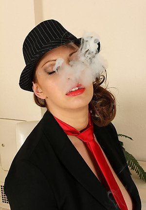 Smoking Mature Pictures